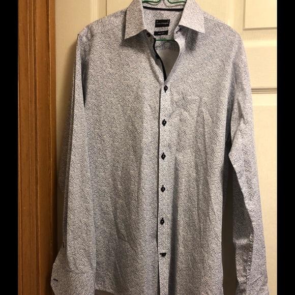 6f06ae488a6 bruun & stengade Shirts | Bruun Stengade Mens Long Sleeve Dress ...